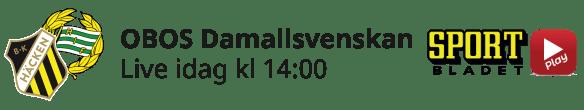 2021-04-18 Damallsvenskan Hammarby-Häcken - Aktuell dag - 2021-04-18 Damallsvenskan Hammarby-Häcken - Aktuell dag
