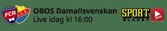 2021-05-09 Damallsvenskan - FC Rosengård - Djurgårdens IF FF - Aktuell dag - 2021-05-09 Damallsvenskan FC Rosengård - Djurgårdens IF FF - Aktuell dag