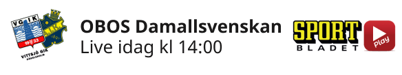2021-05-13 Damallsvenskan Vittsjö GIK- AIK  - Aktuell dag - 2021-05-13 Damallsvenskan Vittsjö GIK- AIK - Aktuell dag