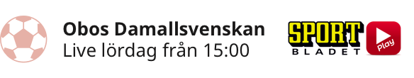 Damallsvenskan 29 juni - 3 juli - Damallsvenskan 29 jun - 3 jul