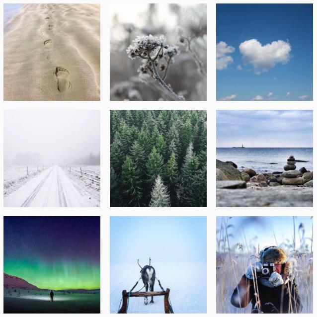 väderbilder från klarts instagram