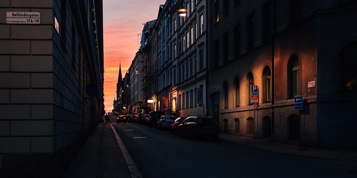 mörker stad